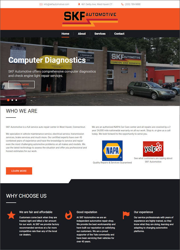 Click to visit SFK Automotive