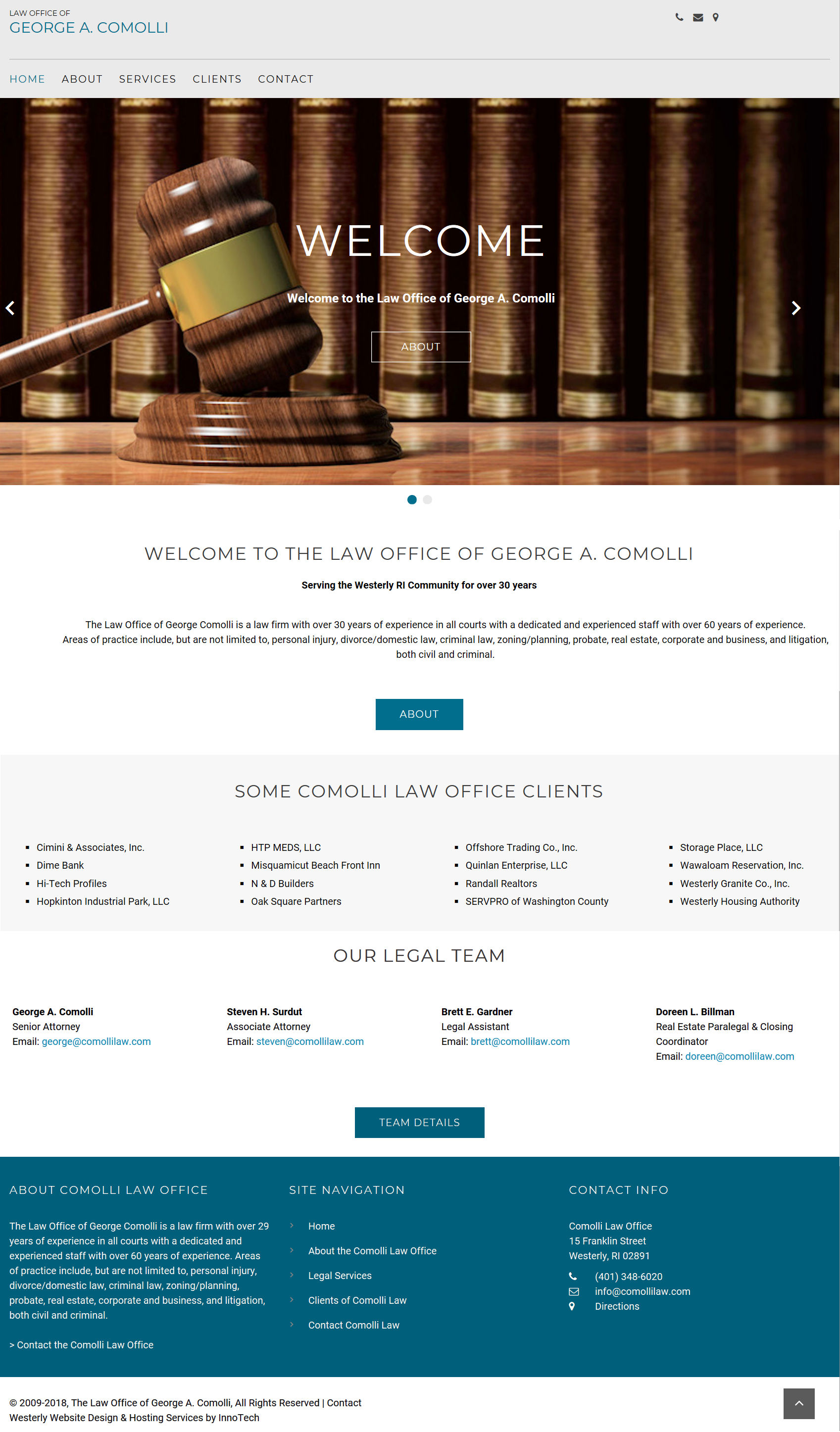 Click to visit Comolli Law Office