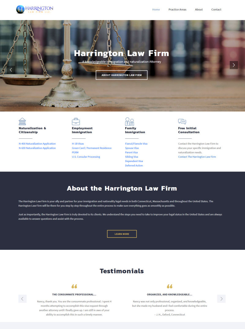 Click to visit Harrington Law Firm