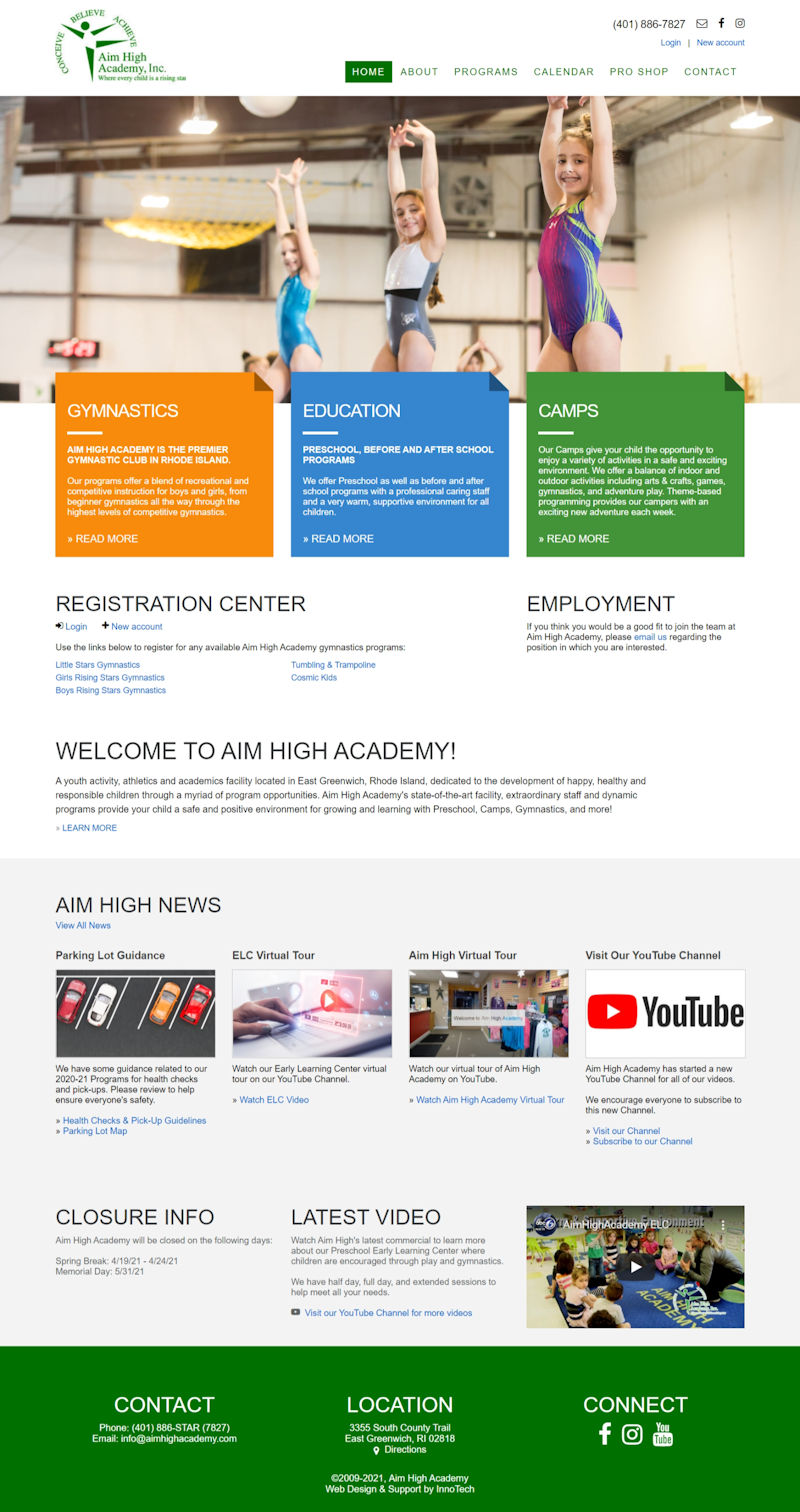 Click to visit Aim High Academy