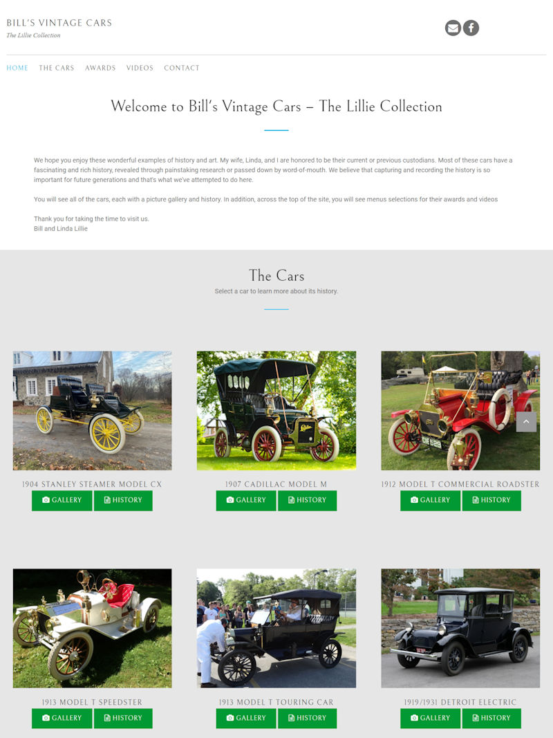 Click to visit Bill's Vintage Cars