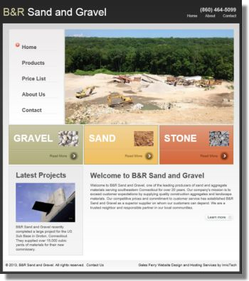 Click to visit B&R Sand and Gravel