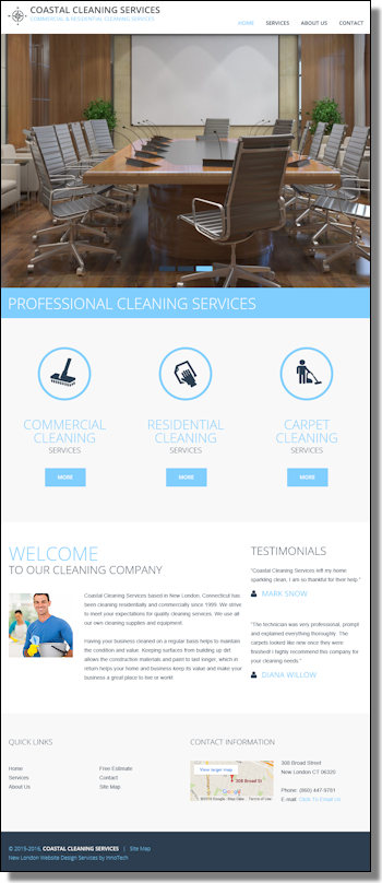 Click to visit Coastal Cleaning Services