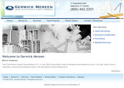 InnoTech Completes Project for Gerwick Mereen Land Surveying