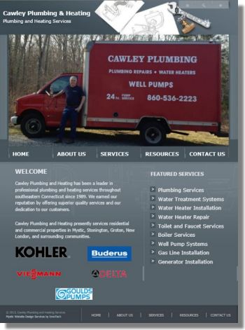 Click to visit Cawley Plumbing and Heating