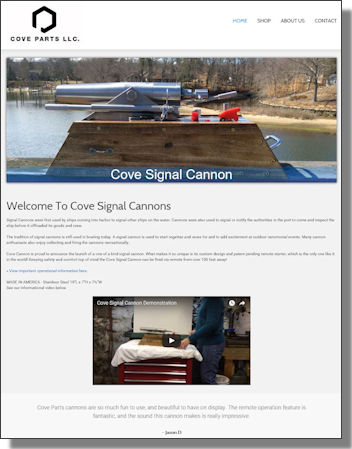 Click to visit Cove Signal Cannons