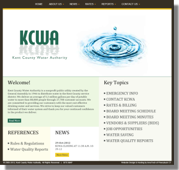 Click to visit Kent County Water Authority