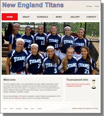 Click to visit New England Titans