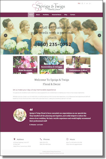 Click to visit Sprigs & Twigs Floral & Décor