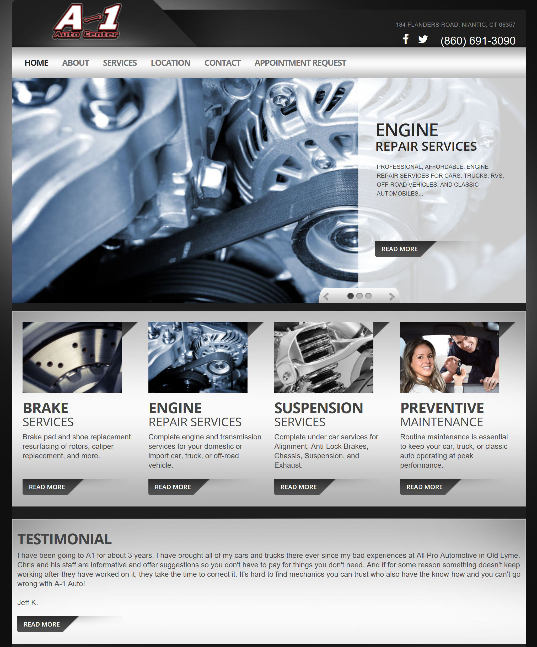 Click or touch to view a portfolio which includes samples of our website design services.